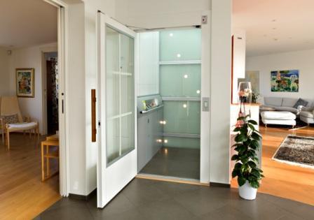 Aplikasi lift penyandang disabilitas pada rumah tinggal