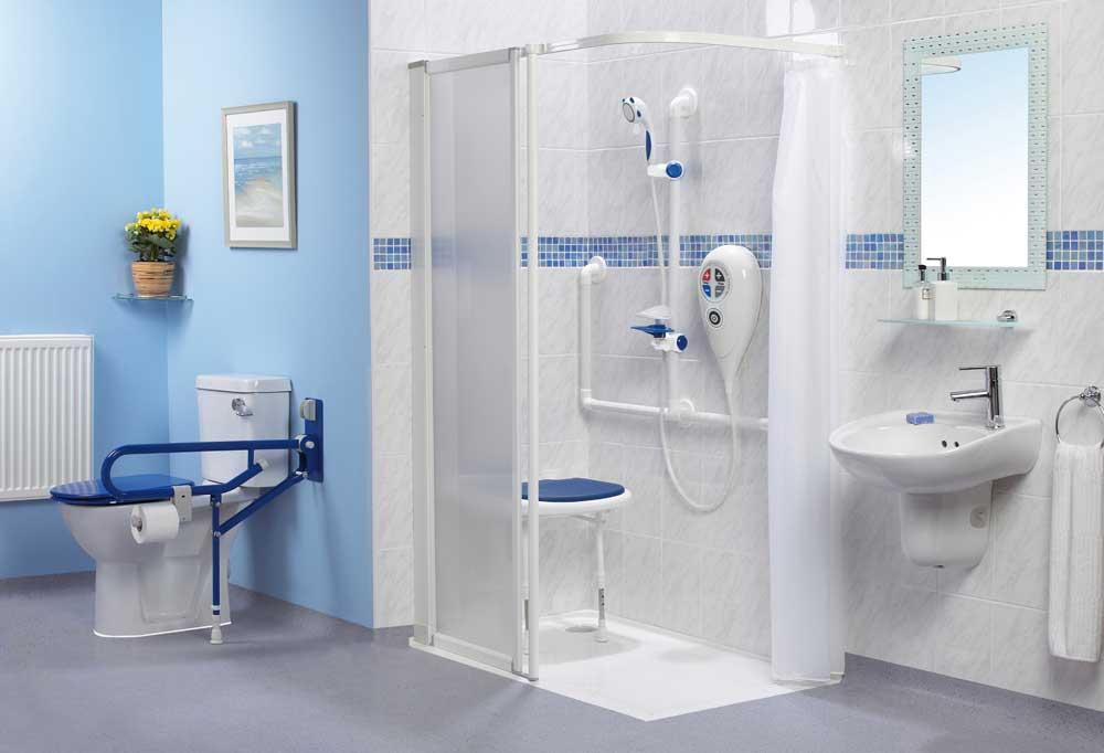 Kamar mandi untuk penyandang disabilitas