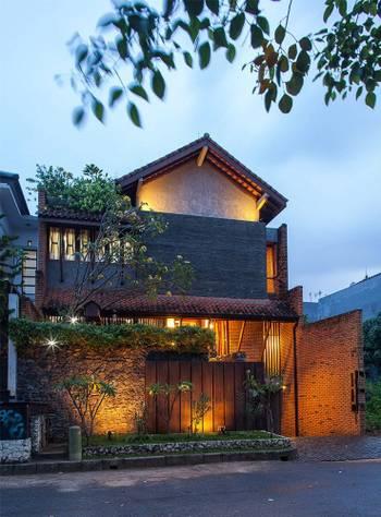 Tanjung Mas House Inspiratio Indonesia Bluprin