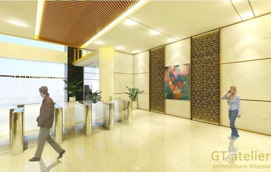 Hl office lobby gt atelier