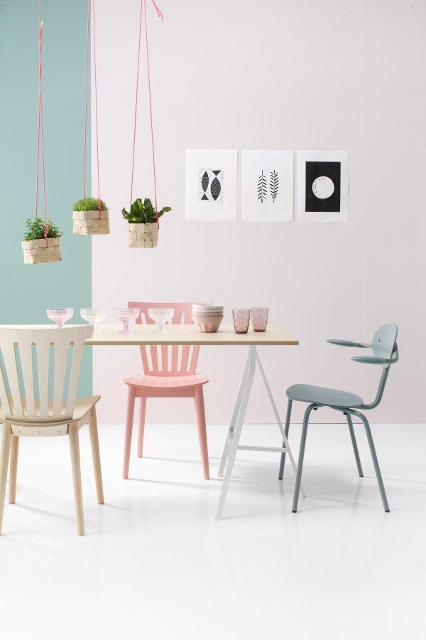Dekorasi Ruang Makan Pastel